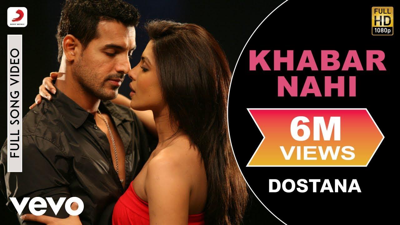 Khabar Nahi Full Video - Dostana|John,Abhishek,Priyanka|Shreya Ghoshal|Amanat Ali