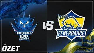 Yarı Final: Bahçeşehir SuperMassive ( SUP ) vs 1907 Fenerbahçe ( FB ) 4. Maç Özeti | 2018 VFŞL Yaz