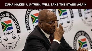 After a dramatic morning where former President Jacob Zuma's legal team told the state capture commission that he would no longer participate in the commission, Zuma has made a U-turn and said he would continue to answer questions.