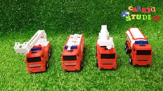Fire trucks, tractors, police cars, truck toys and toy vehicles for children