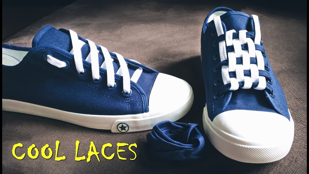 f8d242c1fbf918 LACE SHOES - 5 cool ideas how to tie shoe laces - YouTube