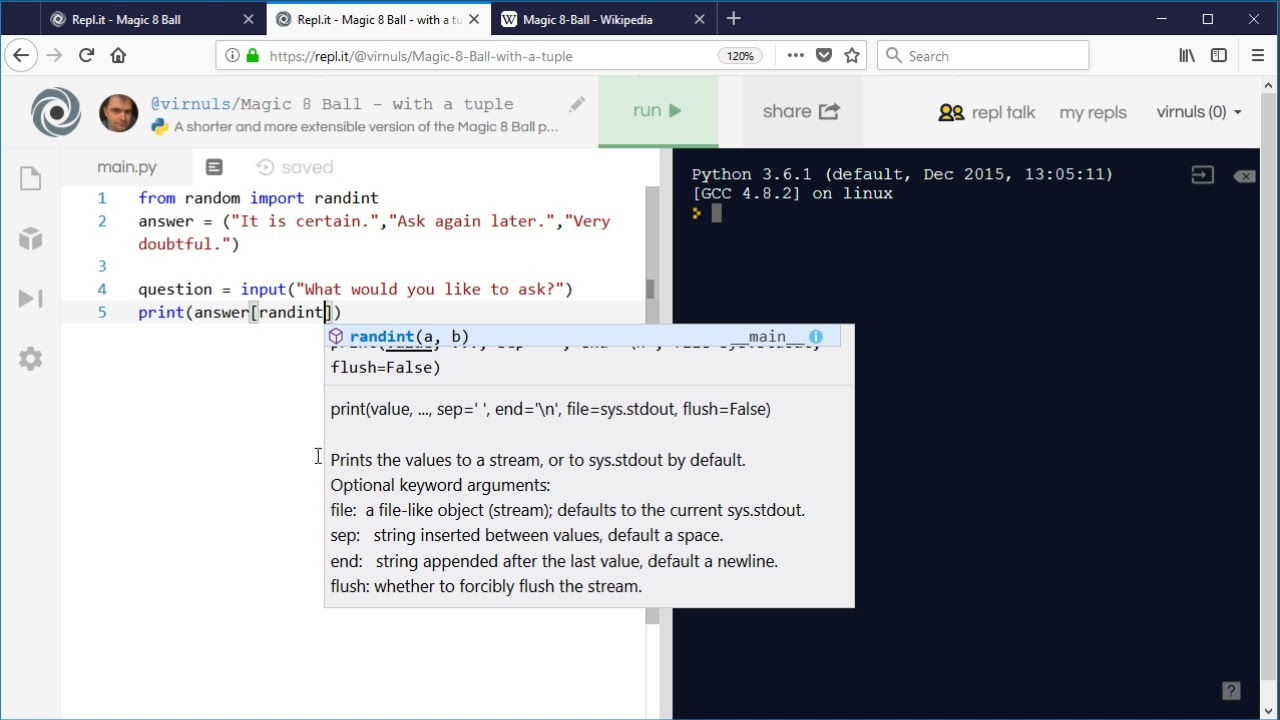 Python 3 - Using Lists/Tuples Instead of IF