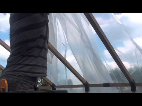 Installing Wiggle Wire and Plastic Film