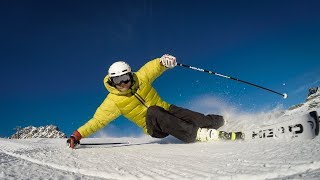 Технический курс по горным лыжам