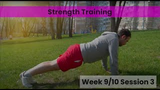 Strength - Week 9/10 Session 3 (Control)