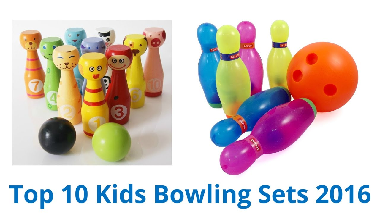10 Best Kids Bowling Sets 2016