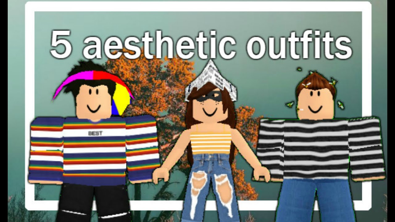 Roblox Outfits 200 Robux 5 Aesthetic Roblox Outfits Under 100 Robux Hd Youtube