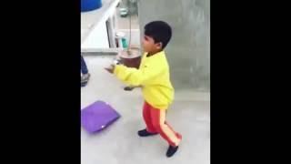 Little Punjabi Kid Full Maa Behan Gaali While Flying Kite