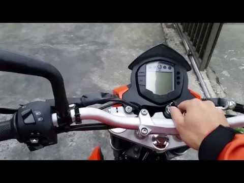 KTM DUKE 200cc Costa Rica - Problema luz electrico - BMS Breymann Motor Sport