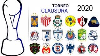 CALENDARIO COMPLETO de la LIGA MX para el torneo CLAUSURA 2020