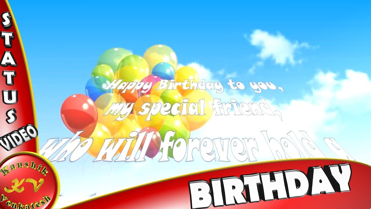 Birthday Wishes For Best FriendImagesGreetingsAnimationWhatsapp VideoHappy Quotes