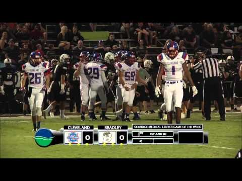 Game Of The Week: Cleveland Blue Raiders At Bradley Central Bears