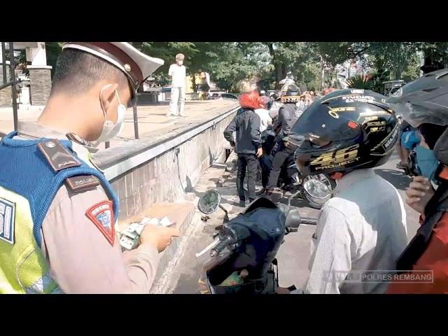 Penyekatan PPKM Darurat Kabupaten Rembang