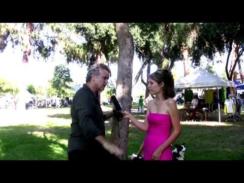 Chris De Rose at Vegan Earth Day 2009
