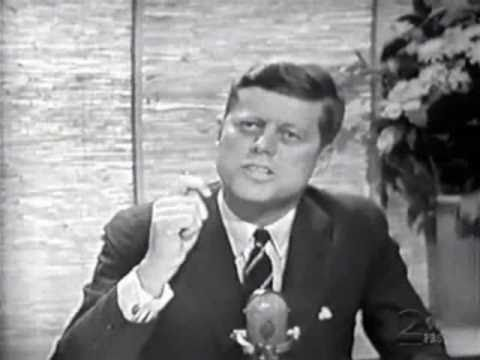 JFK on Jack Paar show, 1960
