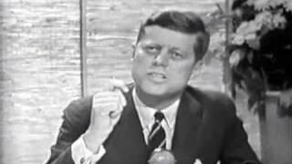 JFK on Jack Paar show, 1960