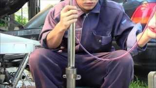 【バイク・自動車整備】フロントフォークの整備と構造 (CBR250RR編)