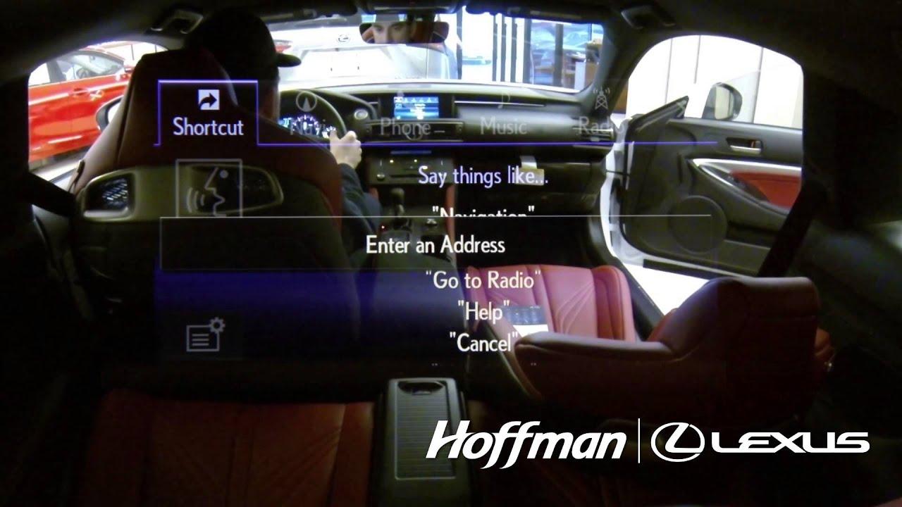 lexus navigation voice command system youtube. Black Bedroom Furniture Sets. Home Design Ideas
