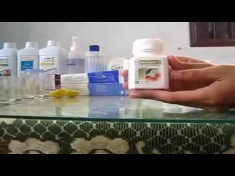 Hướng dẫn minh họa sản phẩm Vitamin C Amway