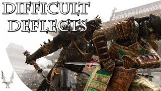 For Honor - Why are some attacks harder to deflect?