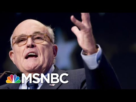 Feds Intensify Giuliani Probe As Barr's DOJ Accepts Ukraine Dirt From Giuliani | MSNBC