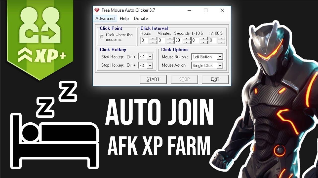 AFK XP FARM OVER NIGHT TRICK | Fortnite