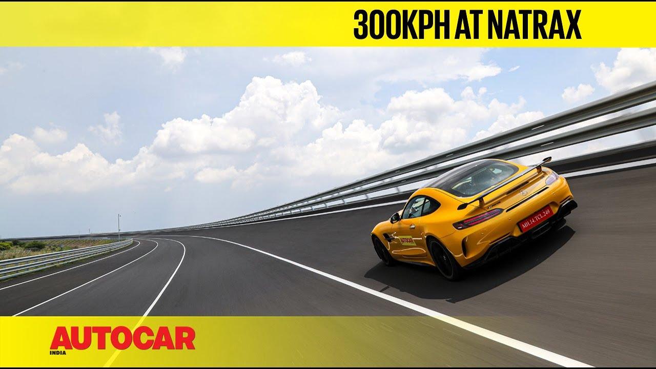 0-300kph in a Mercedes-AMG GT R at NATRAX, India's brilliant new auto test facility | Autocar India