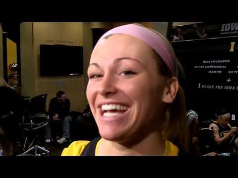 Iowa's Melissa Dixon NCAA Tournament