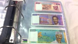 banknotes collections
