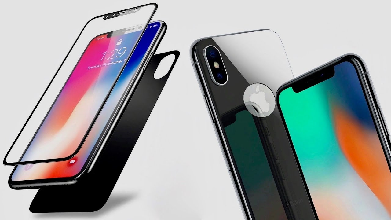 huge selection of 75d44 93bc8 iPhone X - Best Front And Back Screen Protector From Olixar!