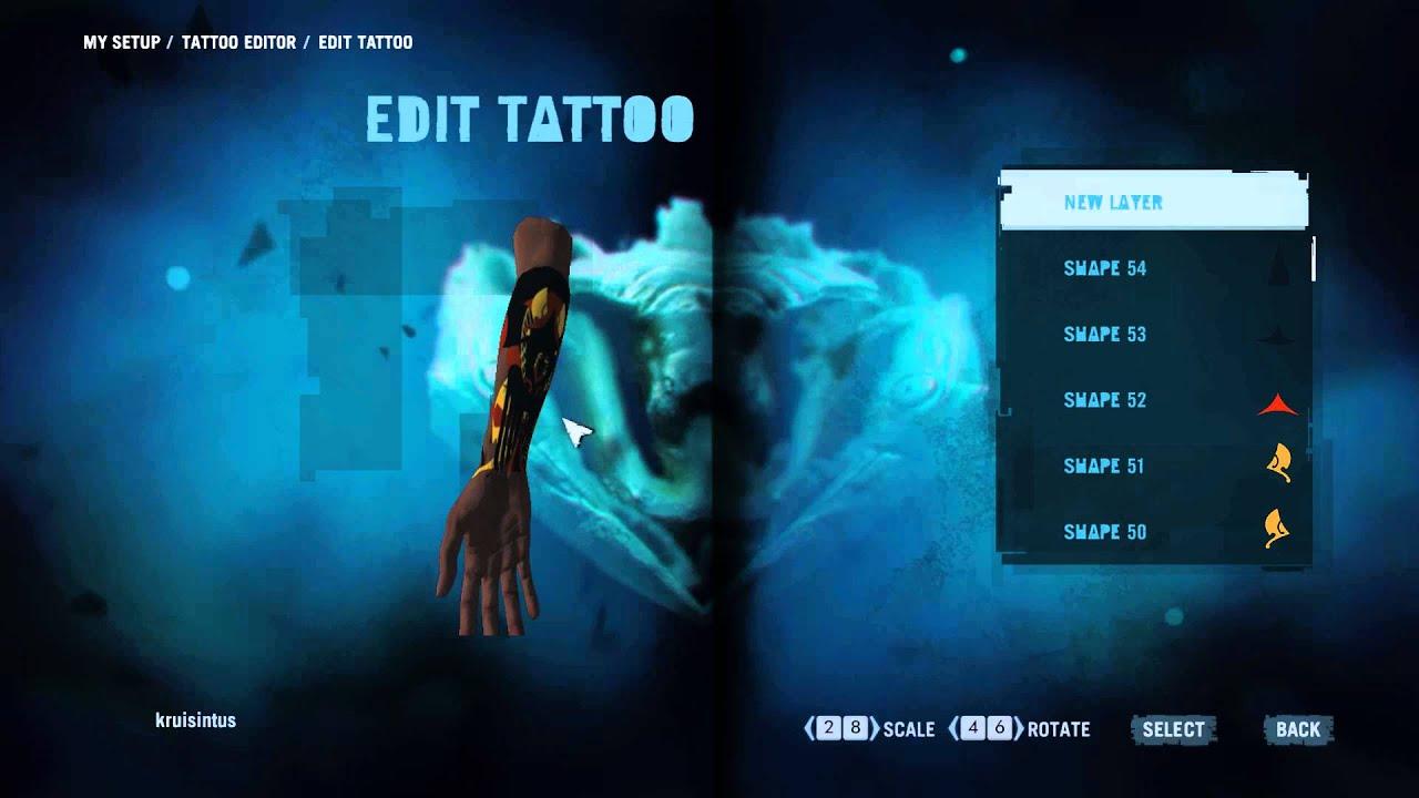Far Cry 38 tattoo and leaderboards showcase;) - YouTube - Far Cry 3 Tattoo