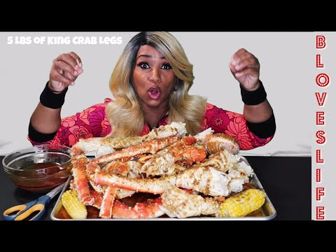 Blove's Smackalicious Seafood Boil 13 ⚠ Smacking Noises, Messy Eating