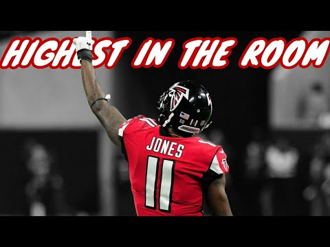 Julio Jones || Highest In The Room Ft. Travis Scott || NFL Highlights