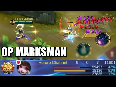 CHANG'E IS THE NEW OP MARKSMAN MAGE