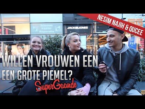 WILLEN VROUWEN EEN GROTE PIEMEL? (18+) - SUPERGAANDE INTERVIEW