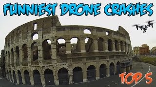 Top 5 Funniest Drone Crashes