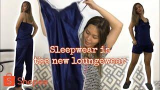 I Bought Sleepwear from Shopee's 3.3 Sale! Giveaway Alert! ✨ screenshot 4