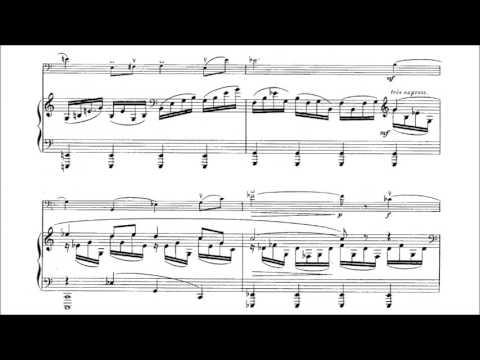 Francis Poulenc - Cello Sonata [With score]