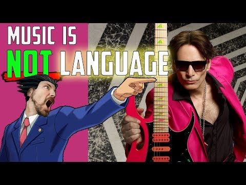 Steve Vai is WRONG!! Music is NOT a Language   Mike The Music Snob