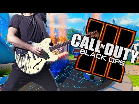 Playing Guitar On Black Ops 3 - Open Lobby!