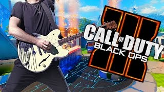Playing Guitar on Black Ops 3 - Open Lobby