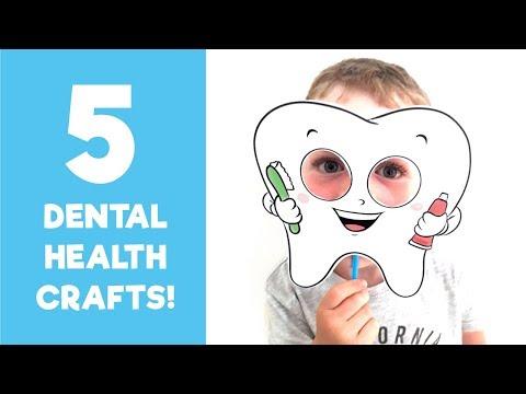 5 Dental Health Crafts   Teaching Kids to Brush Their Teeth