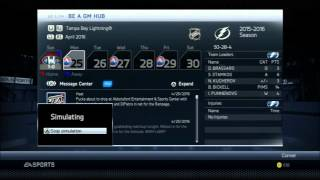 NHL 14 Lightning GM Mode - A Thorn in Our Side [EP13]