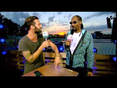 Snoop Dogg valt onverwachts binnen tijdens Festivalitis Pukkelpop!