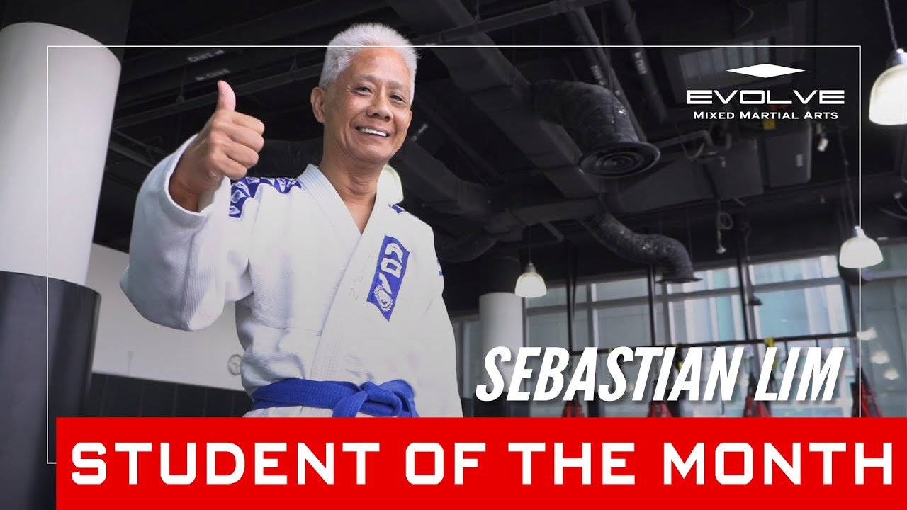 Evolve MMA   Student of the Month: 67-year-old Sebastian Lim