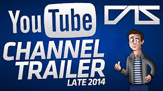My YouTube Channel Trailer: Late 2014