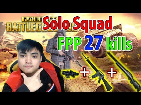 RIP113 solo squad FPP 27 kills l Really ?