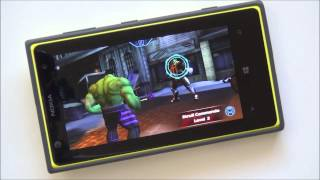 Avengers Initiative for Windows Phone -- Hands on demo