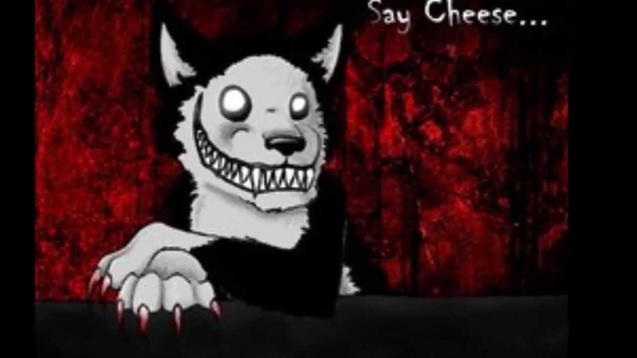 Smiley Creepypasta Dog