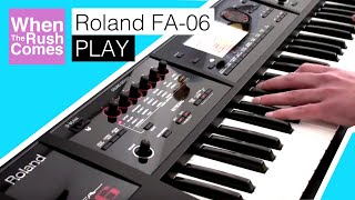 Roland FA-06 | Play
